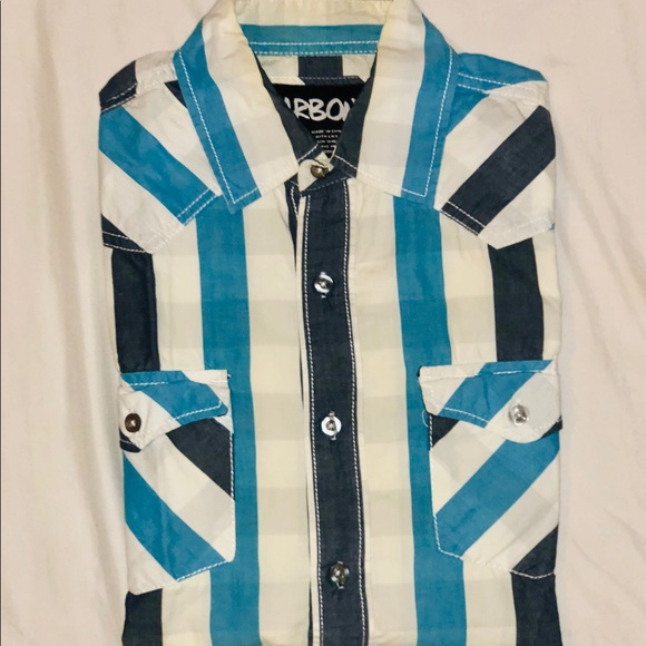 Other - Blue striped button down
